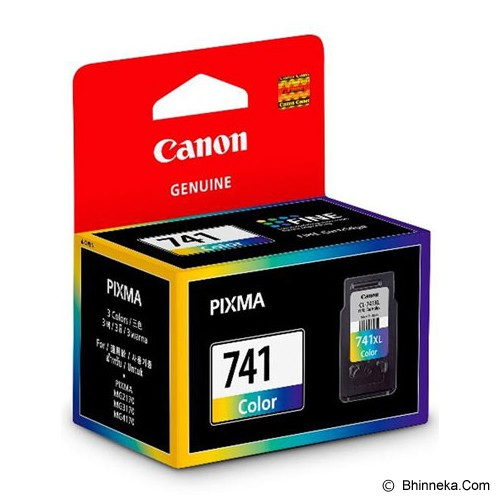 CANON Color Ink Cartridge with Print Head [CL-741] - Tinta Printer Canon